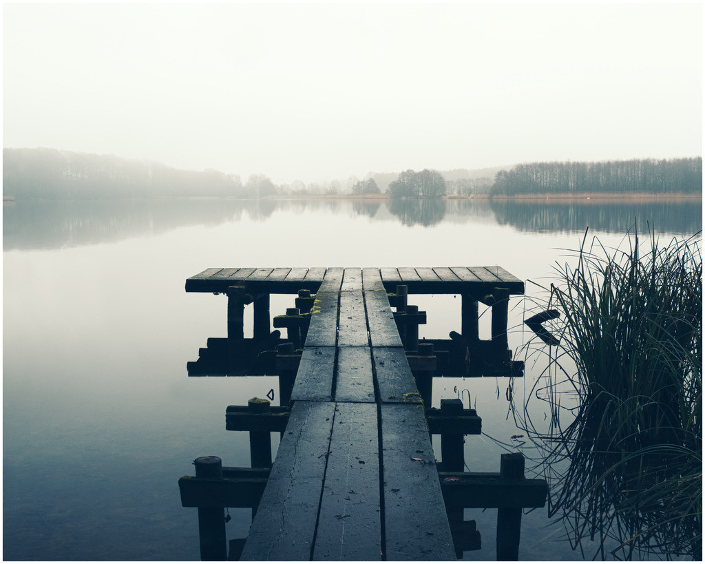 The Dreary Lake   Winter am Bossee