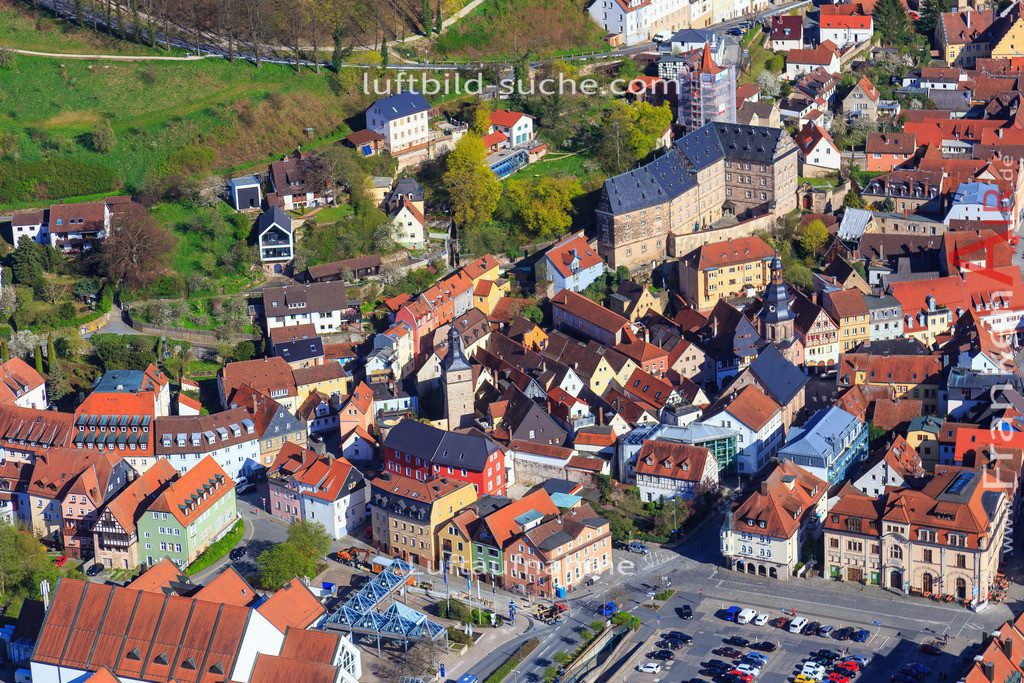 kulmbach-2016-3206 | Luftbild von  Kulmbach - Luftaufnahme wurde 2016 von https://frankenair.de mittels Flugzeug (keine Drohne) erstellt - die Geschenkidee