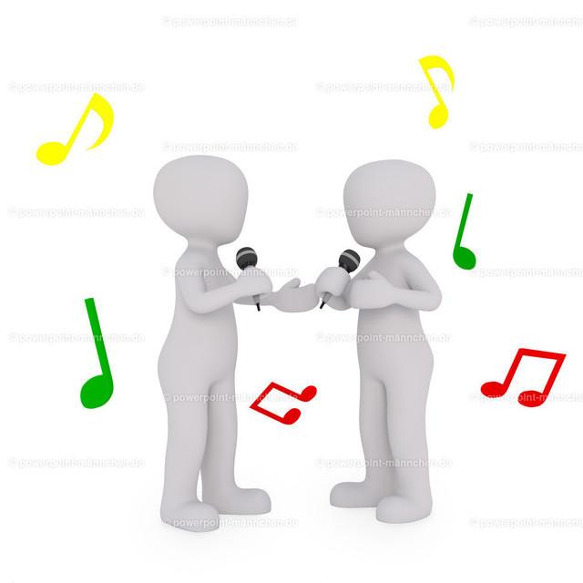 a group of singers sing together   Quelle: https://3dman.eu   Jetzt 250 Bilder kostenlos sichern