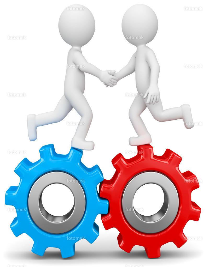 3d weisse männchen Partnerschaft