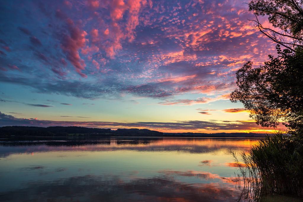 Sonnenuntergang Waging am See | Sonnenuntergang Waging am See