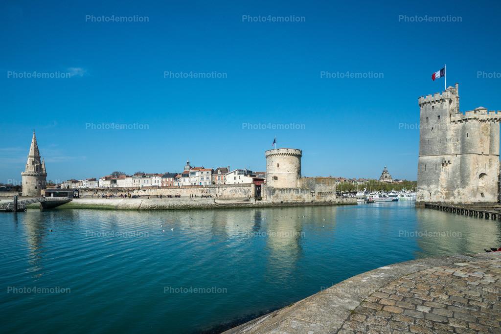 Hafeneinfahrt La Rochelle