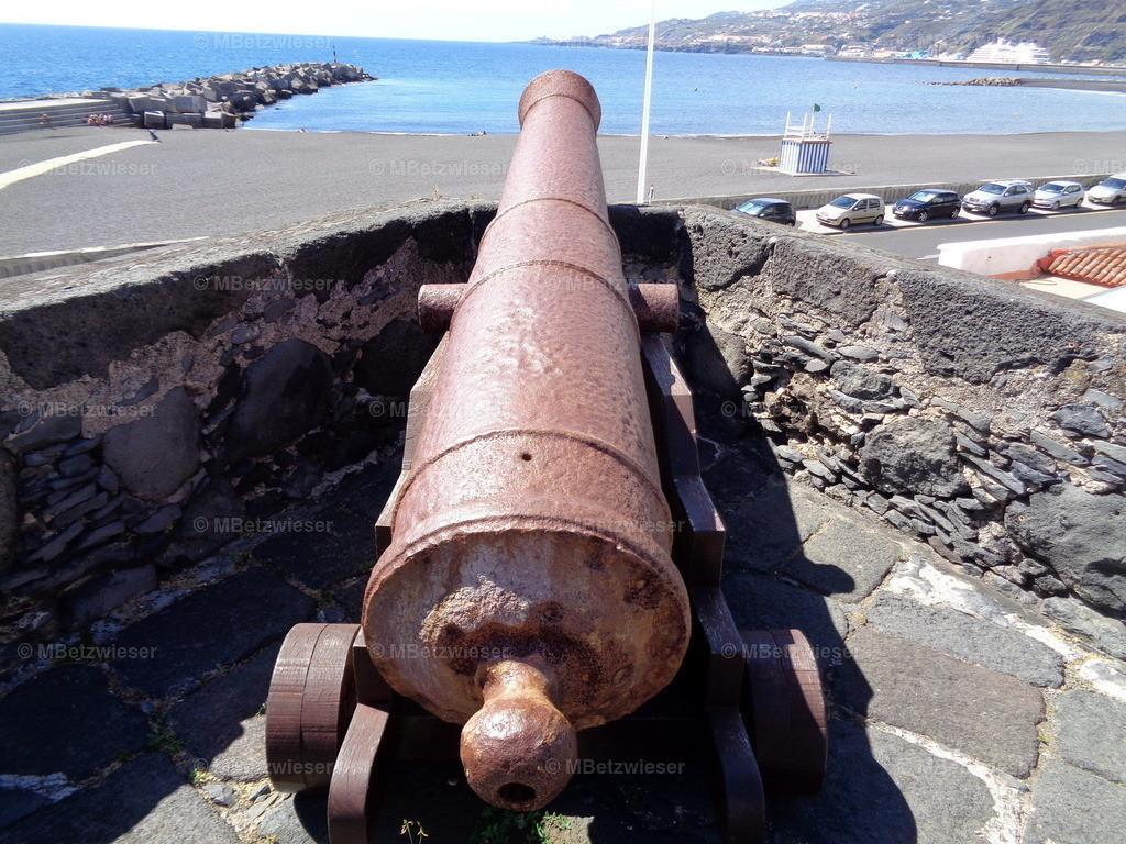 DSC01123 | Kanone am Castillo de Santa Catalina in Santa Cruz de La Palma