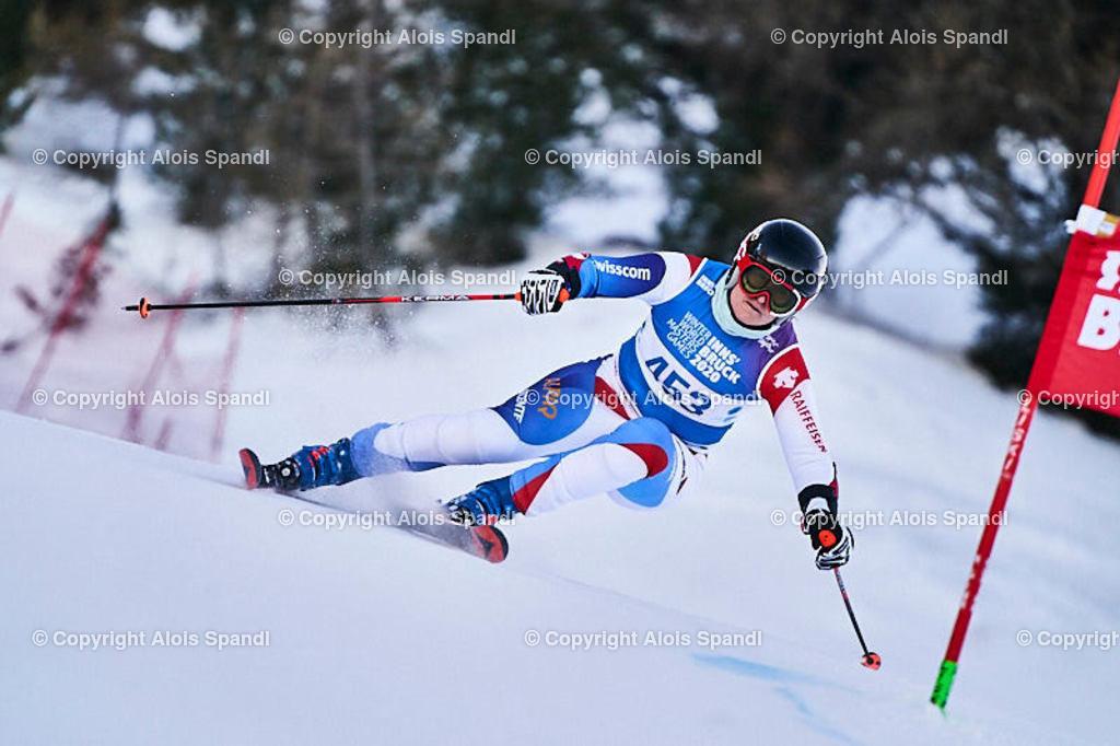 ALS5948_WWMG_GS-II_C | (C) FotoLois.com, Alois Spandl, WinterWorldMastersGames 2020 Innsbruck, Giant Slalom-II Gruppe C Damen, Patscherkofel Olympiaabfahrt, Mi 15. Jänner 2020.