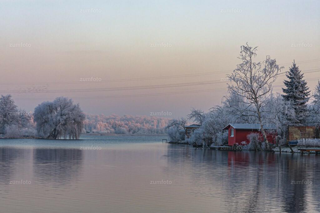 Bilick auf den Tiefwarensee im Winter