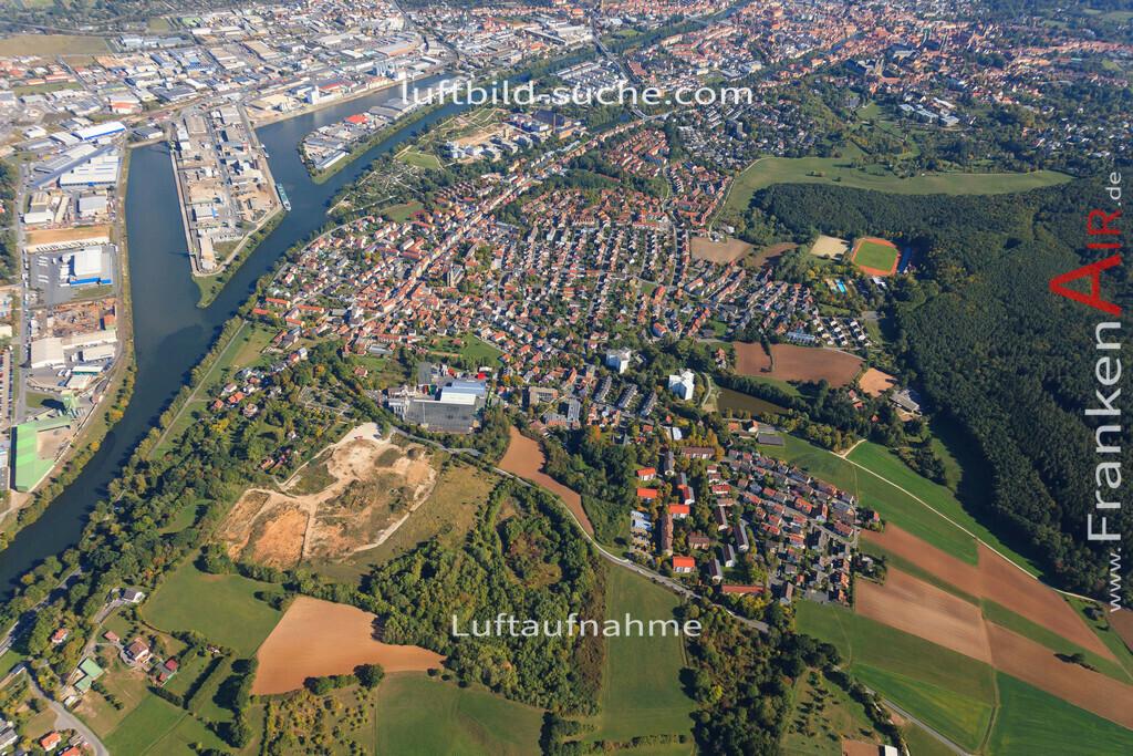 luftbild-bischberg-2015-5693   Luftbild von  Bischberg - Luftaufnahme wurde 2015 von https://frankenair.de mittels Flugzeug (keine Drohne) erstellt - die Geschenkidee