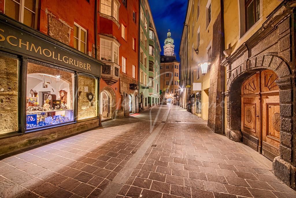 Pfarrgasse | Die Pfarrgasse in der Innsbrucker Altstadt