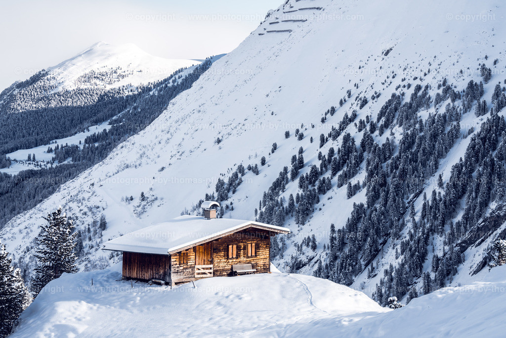 Sommerbergalm im Winter-3