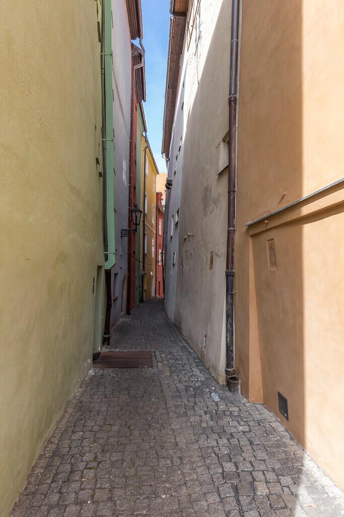 Kramarska Straße in Cheb