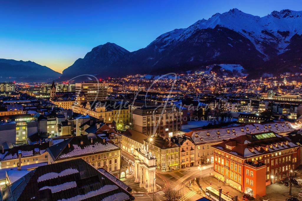 Innsbruck | Abendstimmung in Innsbruck