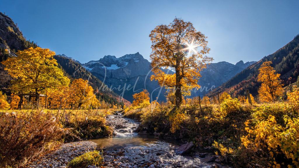 Herbst in der Eng | Goldener Oktober am Großen Ahornboden