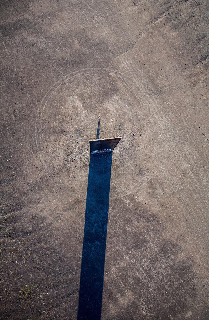 JT-130906-005   Schurenbachhalde, Kunstwerk des britischen Kuenstlers Richard Serra,