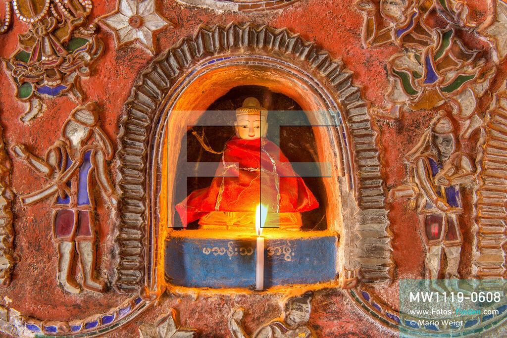 MW1119-0608 | Myanmar | Nyaungshwe | Meditative Fotos | Buddha-Statue im Shwe-Yan-Bye-Kloster am Inle-See  ** Feindaten bitte anfragen bei Mario Weigt Photography, info@asia-stories.com **