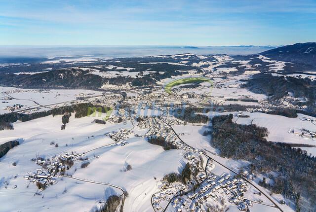 luftbild-siegsdorf-bruno-kapeller-05 | Luftaufnahme von Siegsdorf im Winter 2019