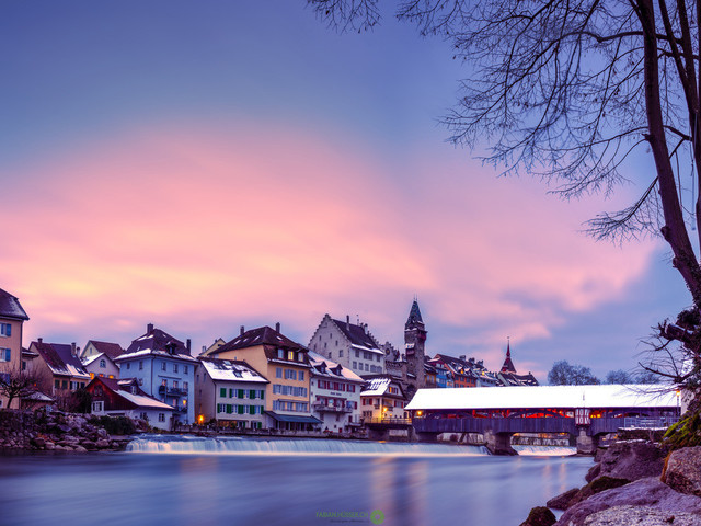 Winter   Stadt Bremgarten AG/CH