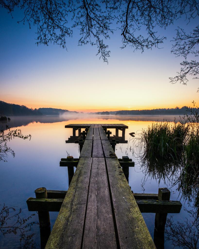Bossee Dawn | Morgendämmerung am Bossee.