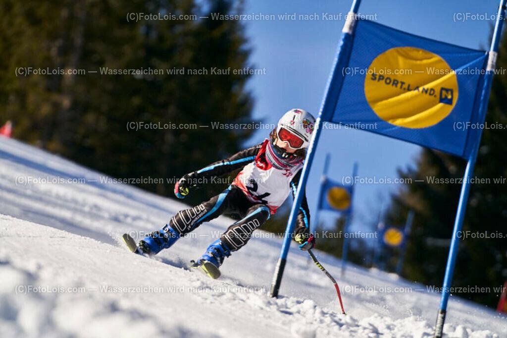 0203_KinderLM-RTL-I_Trattenbach_Rudloff Anna   (C) FotoLois.com, Alois Spandl, NÖ Landesmeisterschaft KINDER in Trattenbach am Feistritzsattel Skilift Dissauer, Sa 15. Februar 2020.