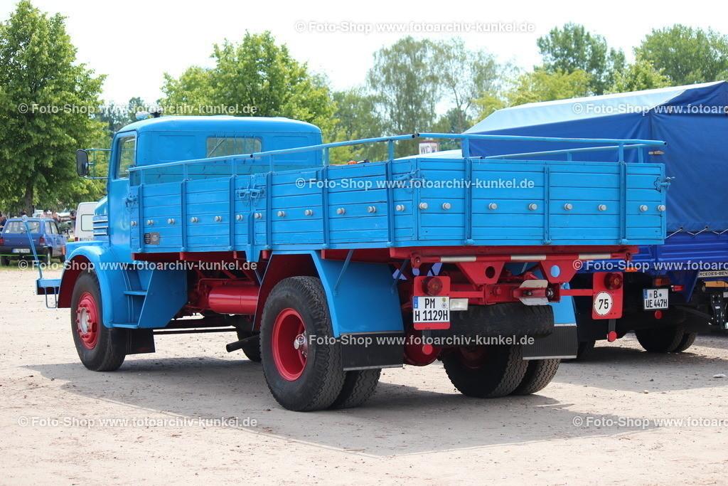 IFA H 6 Pritschenwagen 4x2, 1955 | IFA H 6 Pritschenwagen 4x2, Hauben-Lastkarftwagen, Schwerlastwagen, Baujahr 1955, Motor: Horch EM 6-20 (EMaW 6-20), 6-Zylinder-Reihen-Dieselmotor, wassergekühlt, Leistung: 120 PS, Hersteller: VEB IFA-Kraftfahrzeugwerk »Ernst Grube« Werdau, DDR