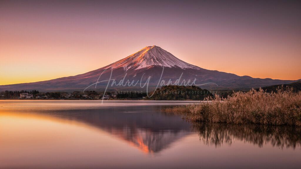 Mount Fuji am Morgen