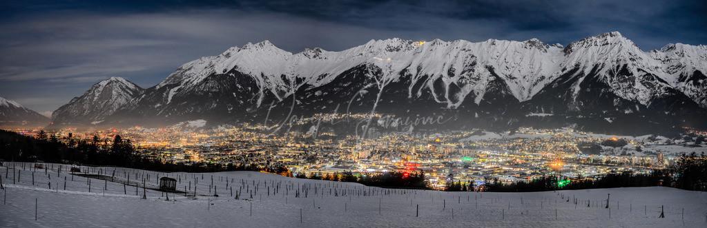 Innsbruck | Innsbruck Panorama mit Nordkette