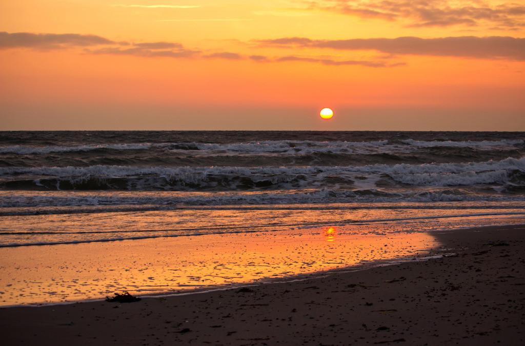 Strand in Booknis | Sonnenaufgang über der Ostsee in Booknis