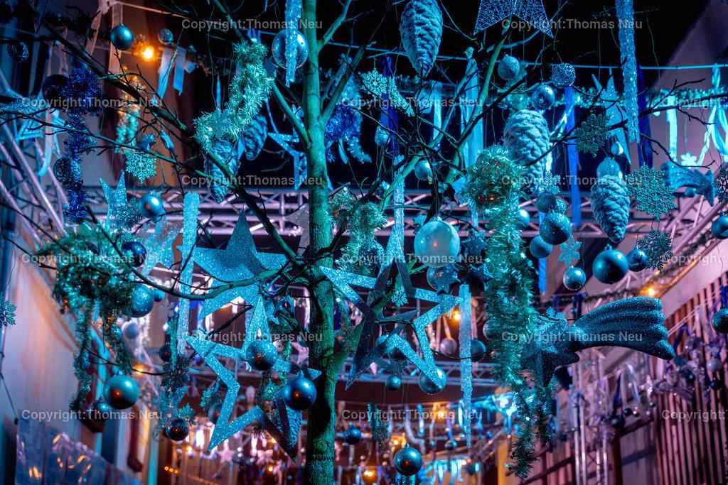 DSC_4011 | ble,Lorsch, blaues Weihnachtswunder, Innenstadt, ,, Bild: Thomas Neu