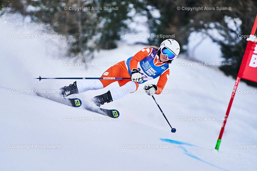 ALS5907_WWMG_GS-II_C | (C) FotoLois.com, Alois Spandl, WinterWorldMastersGames 2020 Innsbruck, Giant Slalom-II Gruppe C Damen, Patscherkofel Olympiaabfahrt, Mi 15. Jänner 2020.