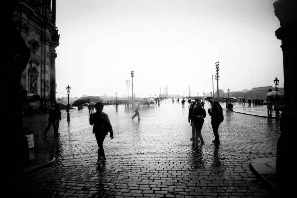 Dresden Schloßplatz | Aus der Serie