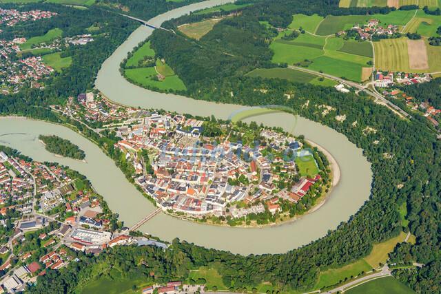 luftbild-wasserburg am inn-bruno-kapeller-04   Luftaufnahme von Wasserburg am Inn im Sommer 2019