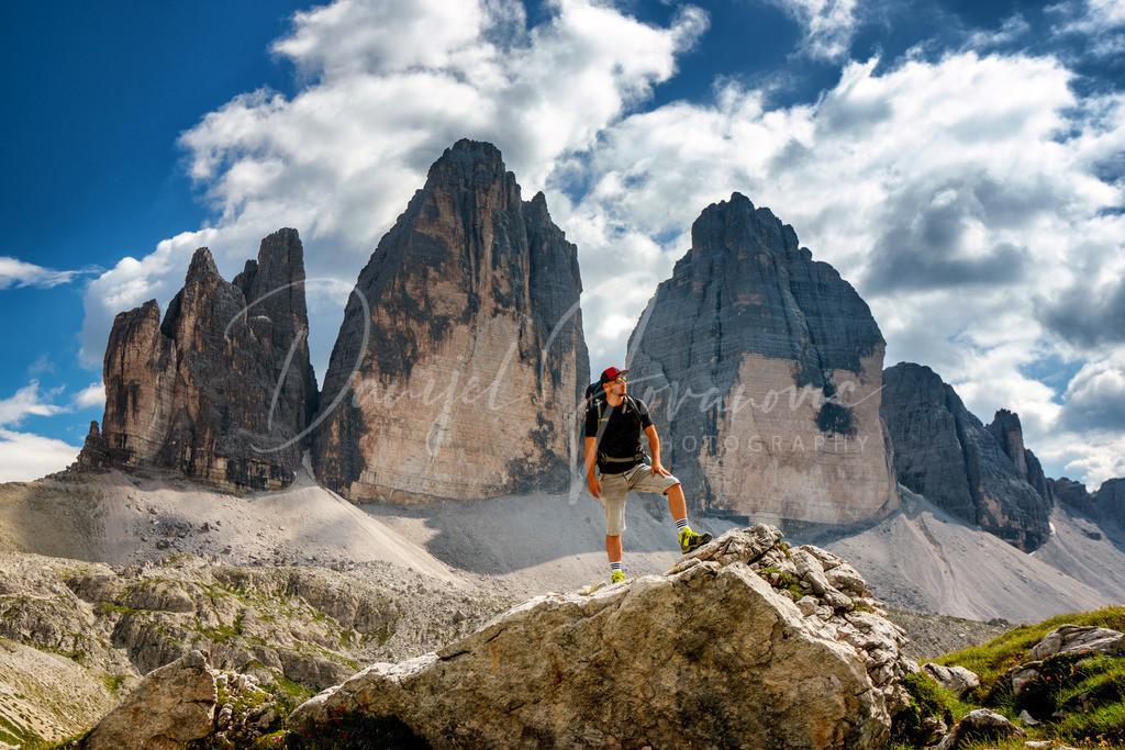 Drei Zinnen | Die Drei Zinnen in den Dolomiten. Unesco Welterbe und absolut beeindruckend