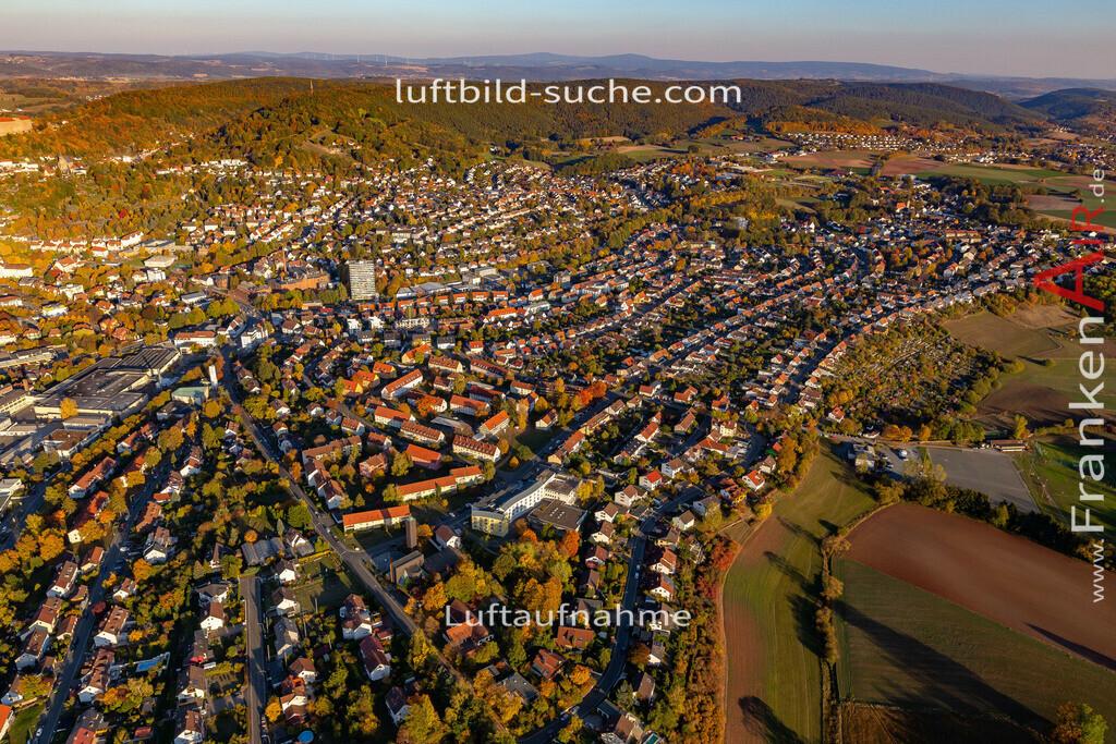 kulmbach-18-2779 | aktuelles Luftbild von  Kulmbach - Luftaufnahme wurde 2018 von https://frankenair.de mittels Flugzeug (keine Drohne) erstellt.