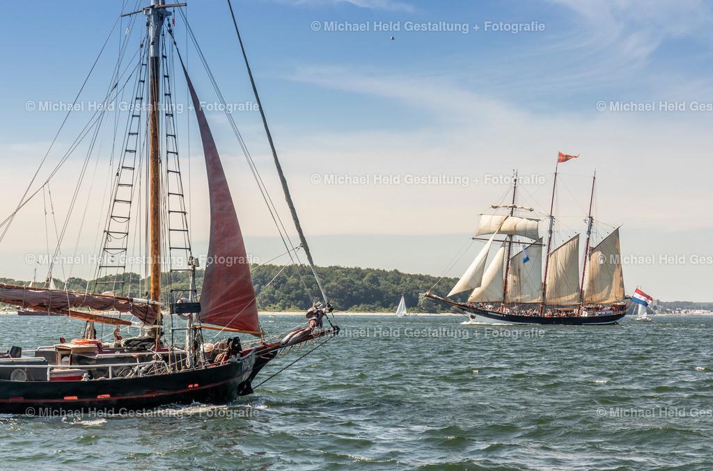 Kieler Woche | Traditionssegler auf der Kieler Woche