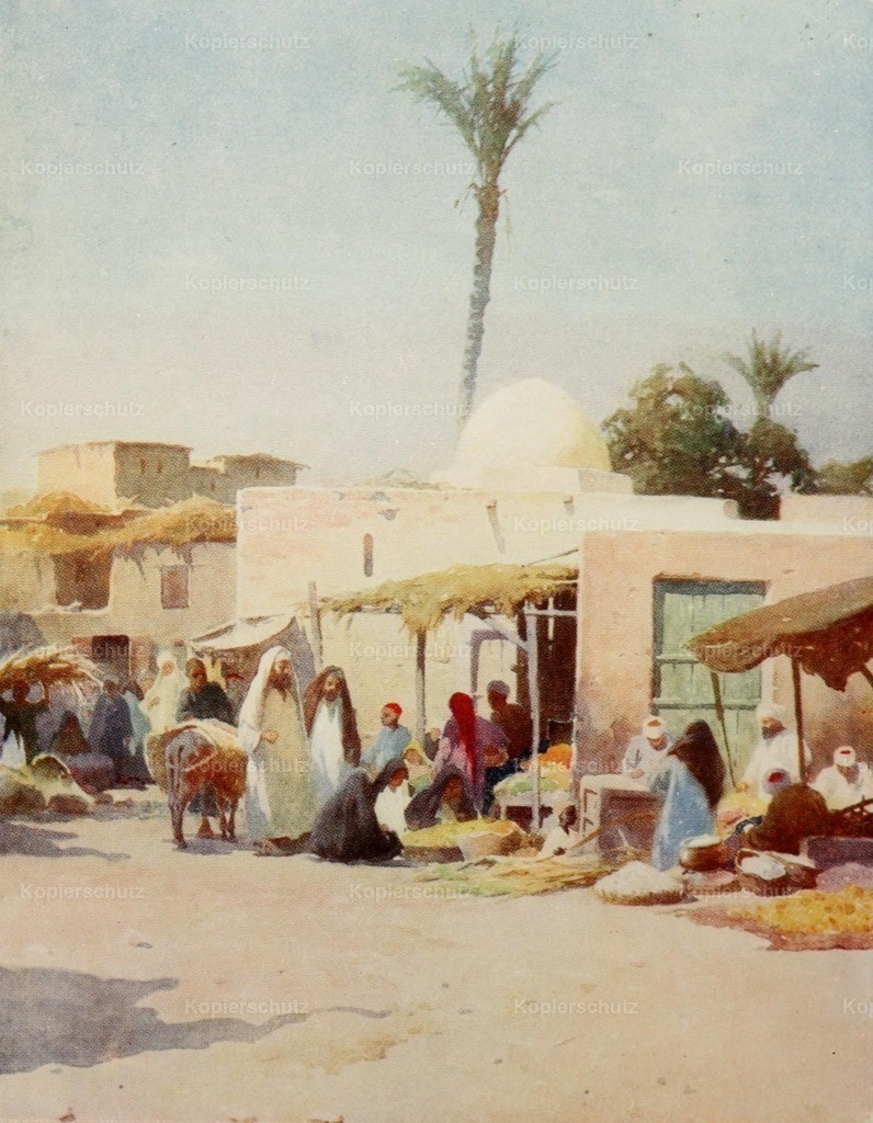 Kelly_ Robert Talbot (1861-1934) - Egypt 1903 - A corner in the market-place