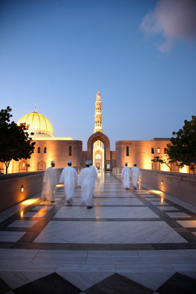 JT-090123-254 | Oman, die Neue Moschee von Muskat,