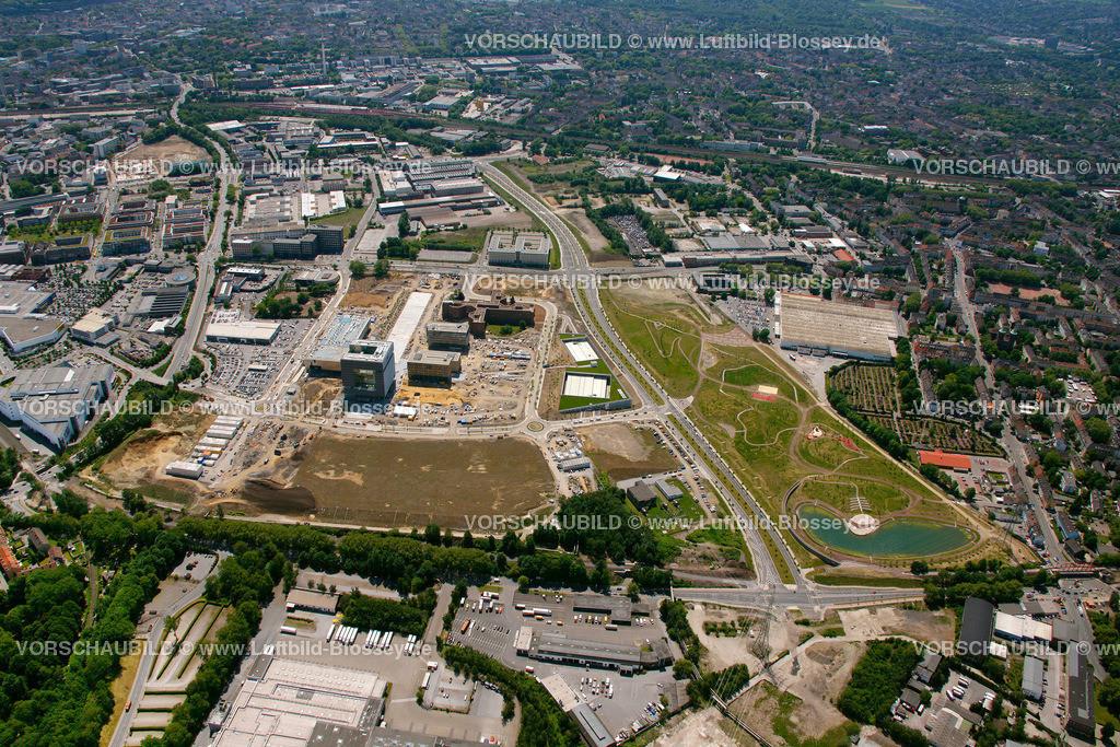 ES10058391 | Westviertel ThyssenKrupp Quartier,  Essen, Ruhrgebiet, Nordrhein-Westfalen, Germany, Europa, Foto: hans@blossey.eu, 29.05.2010