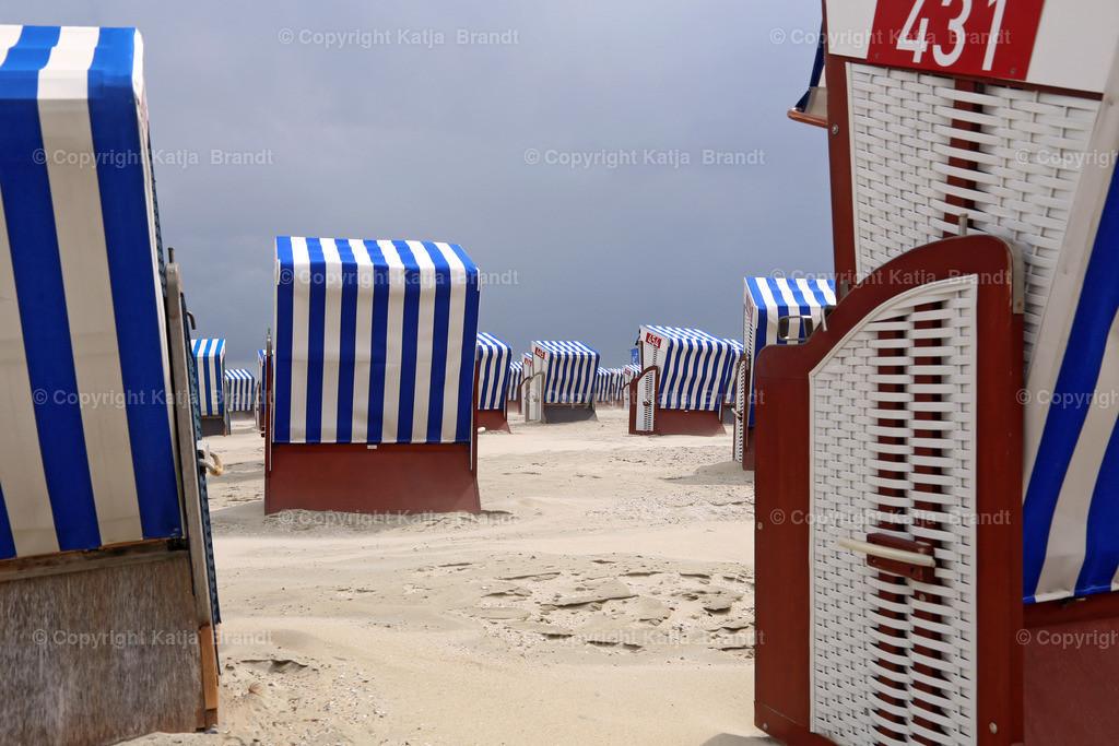 Strandkörbe-Durchsicht