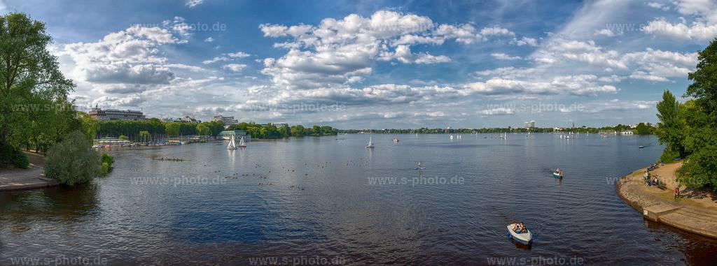 Außenalster | Panorama 120 x 40