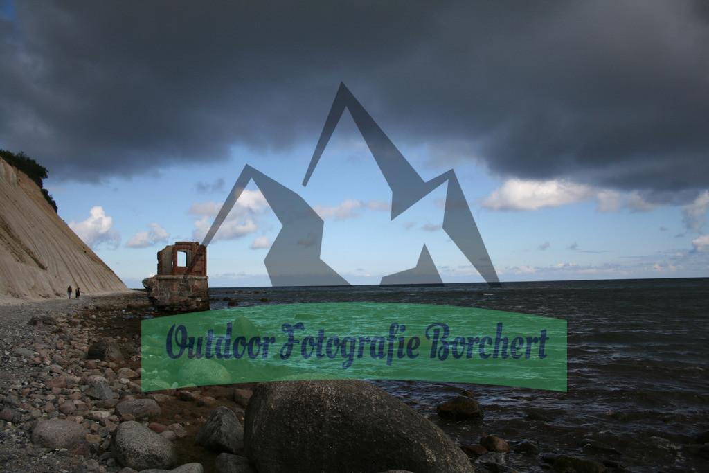 FIL4803 | Kap Arkona - Rügen, Altes Pegelhäuschen am Strand