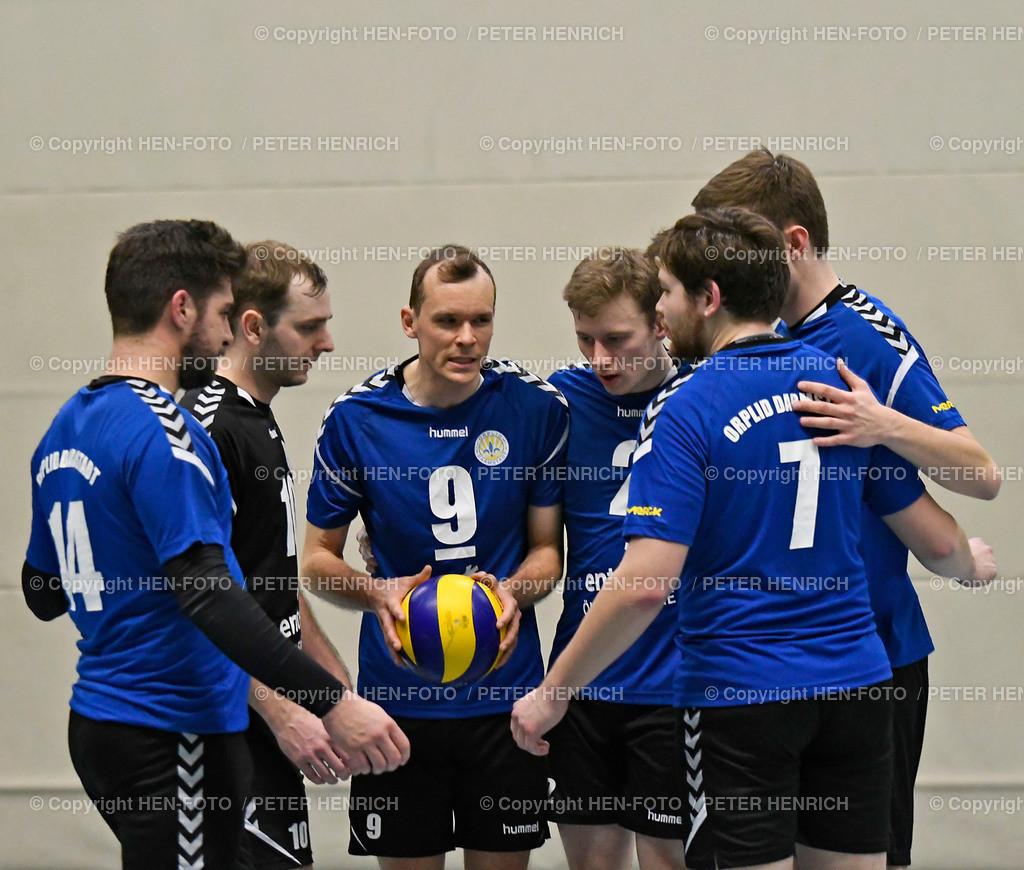 Volleyball Oberliga Orplid Darmstadt - TG Hanau 20190317 - copyright HEN-FOTO (Peter Henrich) | Volleyball Oberliga Orplid Darmstadt - TG Hanau 20190317 Anfeuern Mi Stefan Harnisch (DA) copyright HEN-FOTO (Peter Henrich)