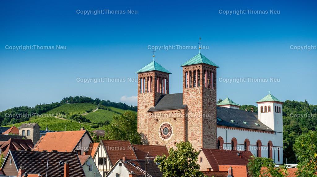 Sankt_Georg_Kirchberg | Bensheim,Sankt Georg,Kirche,, Bild: Thomas Neu