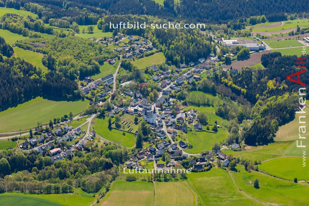 grafengehaig-19-918 | aktuelles Luftbild von  Grafengehaig  - Luftaufnahme wurde 2019 von https://frankenair.de mittels Flugzeug (keine Drohne) erstellt.