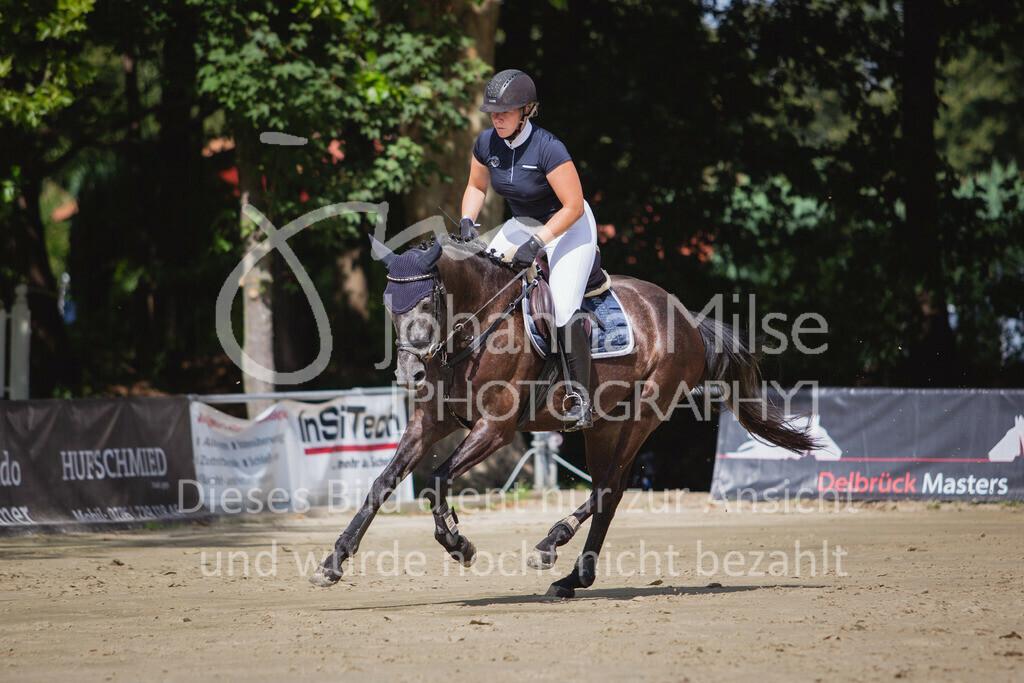 200819_Delbrück_Sprpf-A_1_2-046 | Delbrück Masters 2020 Springpferdeprüfung Kl. A* 4jährige Pferde