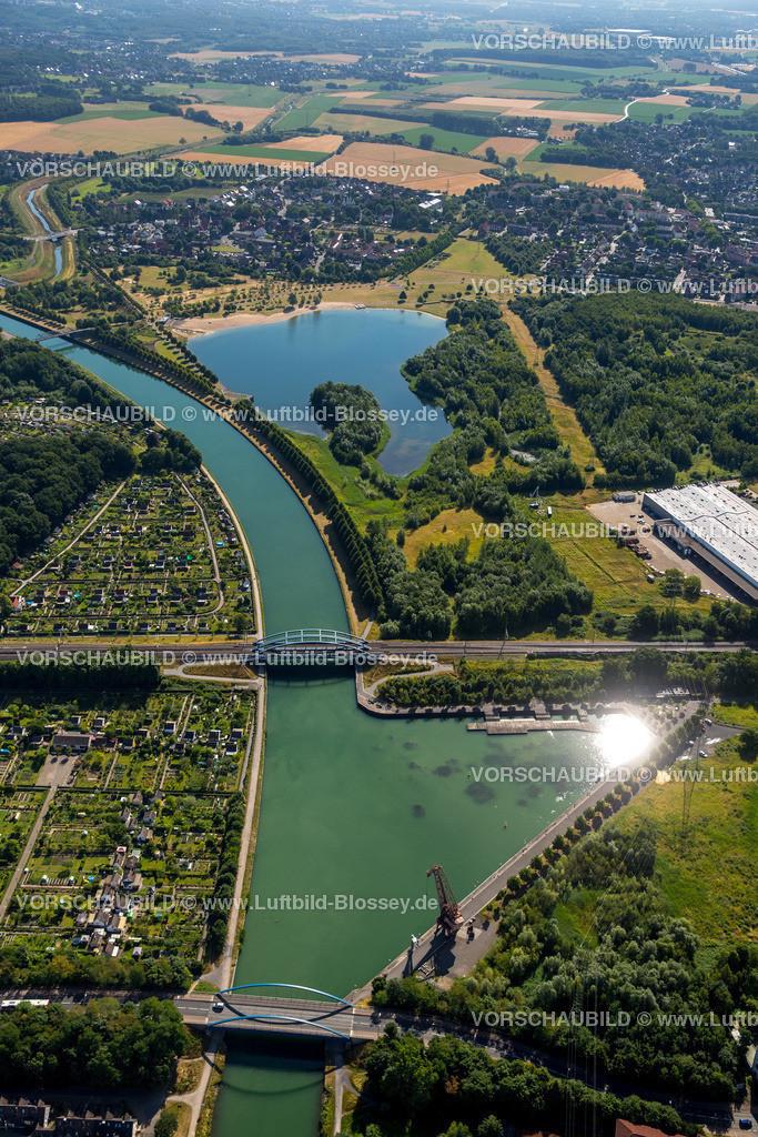 Luenen15071881 | Seepark Lünen mit Kanal und Preußenhafen, Datteln-Hamm-Kanal, Lünen, Ruhrgebiet, Nordrhein-Westfalen, Deutschland