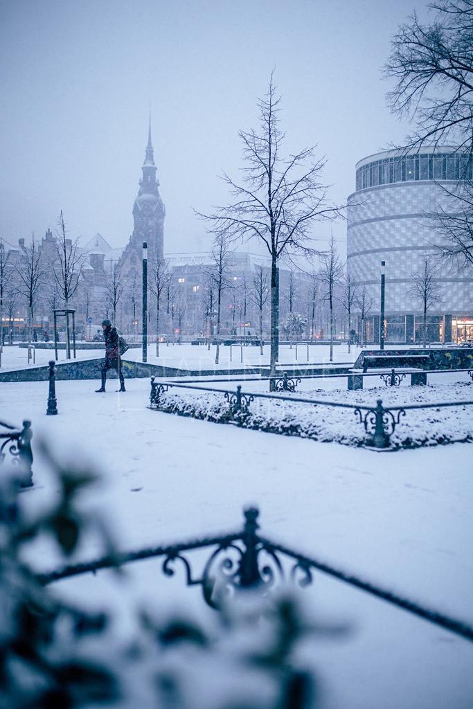 Winter Schnee Leipzig  (1)
