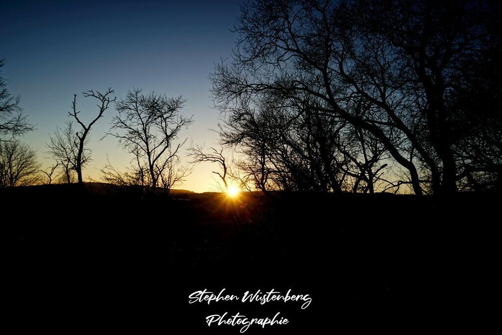 Sunset Gundersweiler | Sonnenuntergang bei Gundersweiler