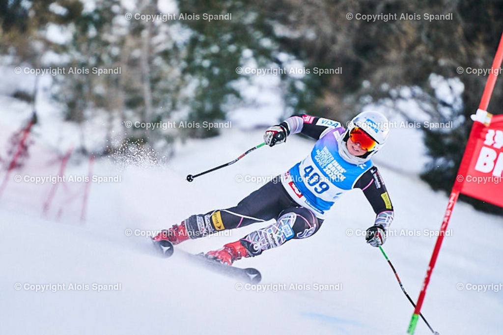 ALS5721_WWMG_GS-II_C | (C) FotoLois.com, Alois Spandl, WinterWorldMastersGames 2020 Innsbruck, Giant Slalom-II Gruppe C Damen, Patscherkofel Olympiaabfahrt, Mi 15. Jänner 2020.