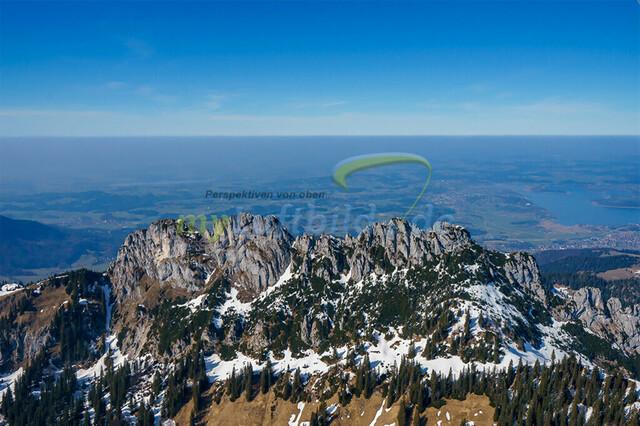 luftbild-kampenwand-bruno-kapeller-07 | Luftaufnahme von der Kampenwand 1669m