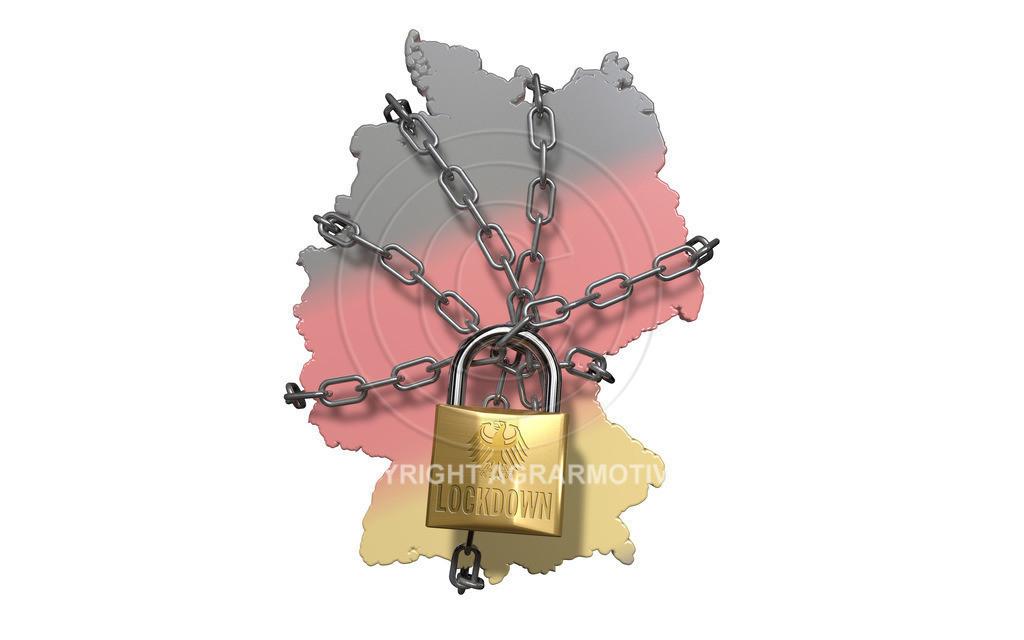 Deutschland Lockdown_Verlängerung | Verschärfte Maßnahmen nach Bund-Länder-Konferenz. Verlängerung des Lockdown zum Kampf gegen die weiterhin zu hohen Infektionszahlen.