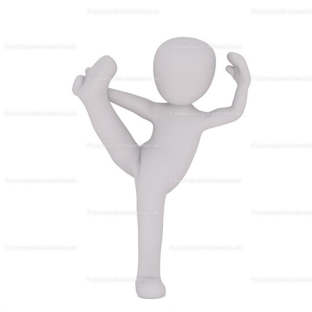practising ballet