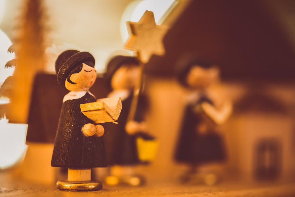 Weihnachtsdeko singende Kurrende